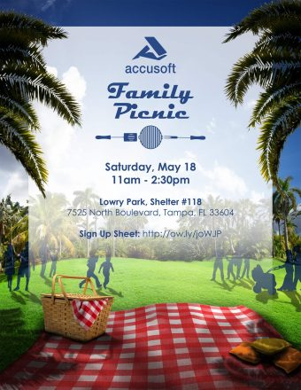 Print – Annual Family Picnic Flyer