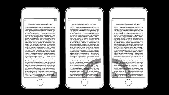 UI/UX Design Mockup – PrizmDoc Reader Mobile App