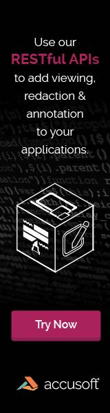 Web Banner – Accusoft – APIs Campaign