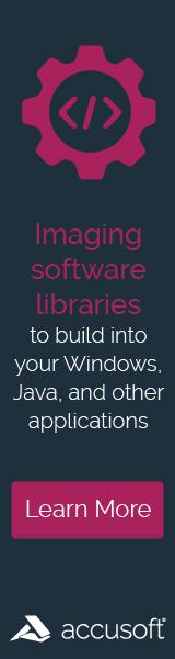 Web Banner – Accusoft – Imaging SDKs